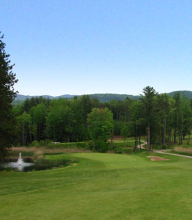 Hole 10 the Green Image