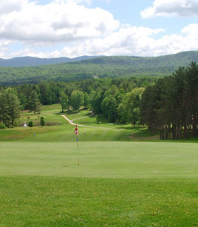 Hole 16 the Green Image
