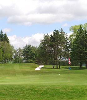 Hole 17 the Green Image