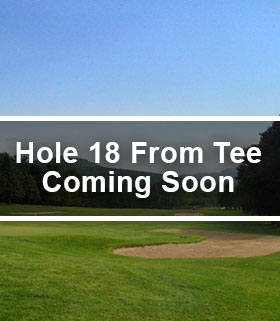 Hole 18 from the Tee Image