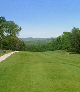 Hole 2 from the Tee Image