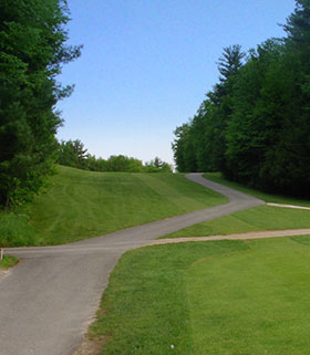 Hole 3 from the Tee Image